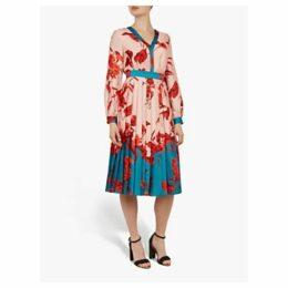 Ted Baker Fantasia Bow Neck Midi Dress