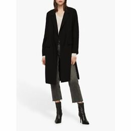 AllSaints Aleida Duster Coat, Black