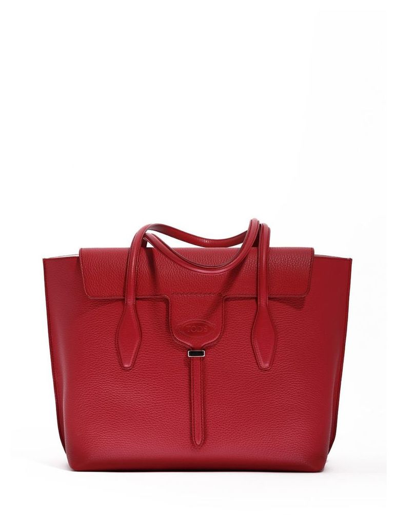 Tod's Joy Bag Red Leather