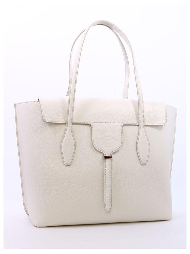 Tod's Joy Bag White Leather