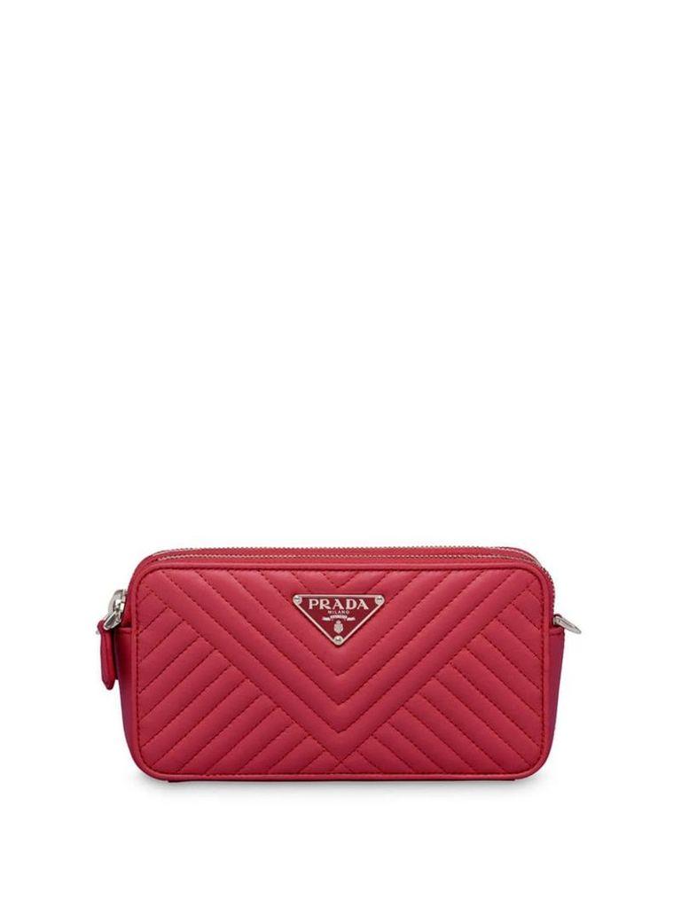Prada mini shoulder bag - Red