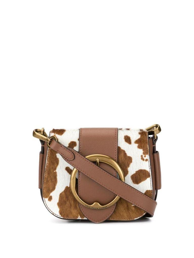 Polo Ralph Lauren cow spot cross body bag - Brown