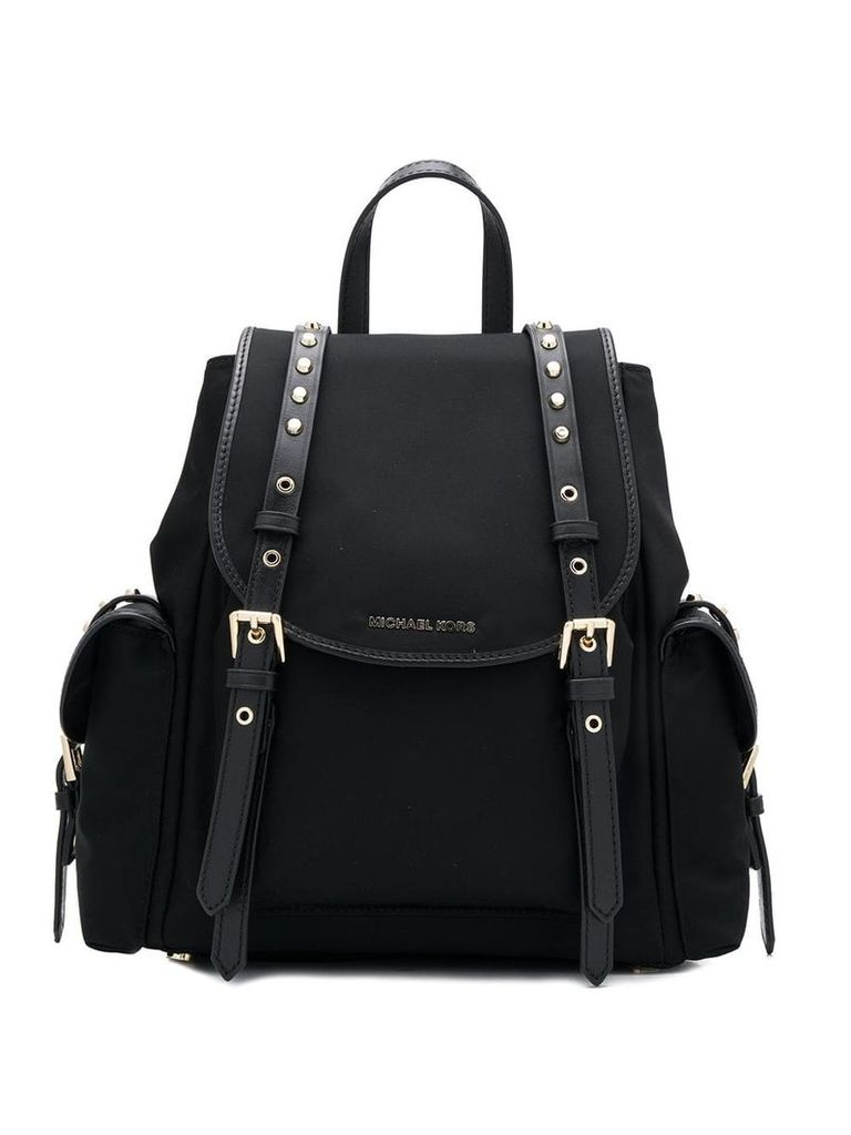 Michael Michael Kors studded detail backpack - Black