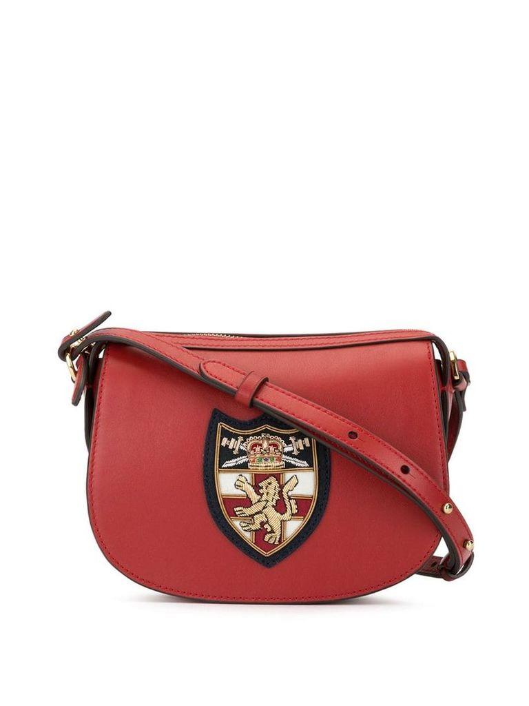 Polo Ralph Lauren logo cross body bag - Red