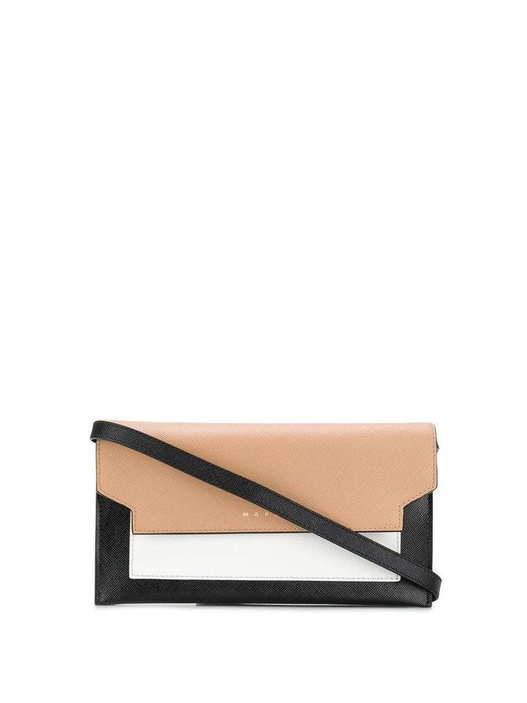 Marni mini colour-block bag - Black