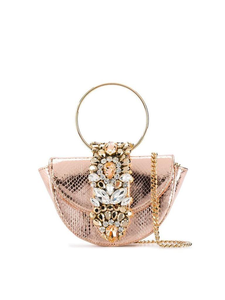 Gedebe mini Brigitte tote bag - Gold