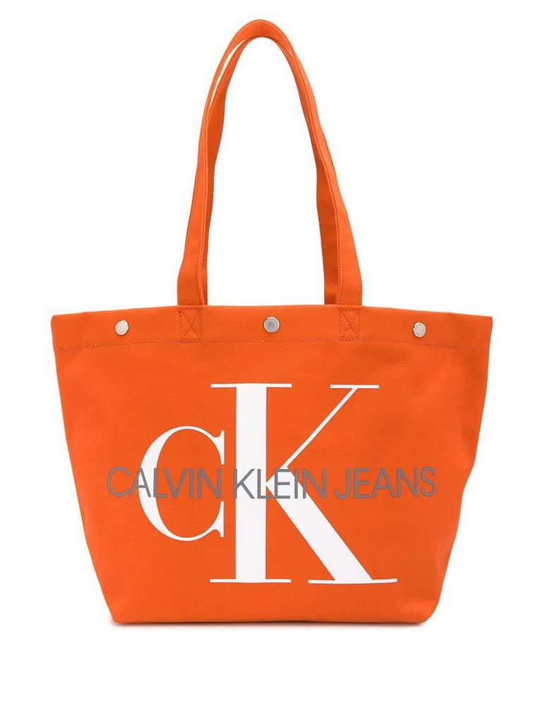 Ck Jeans Utility tote bag - Orange