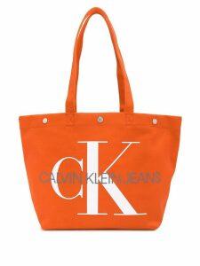 Calvin Klein Jeans Utility tote bag - Orange