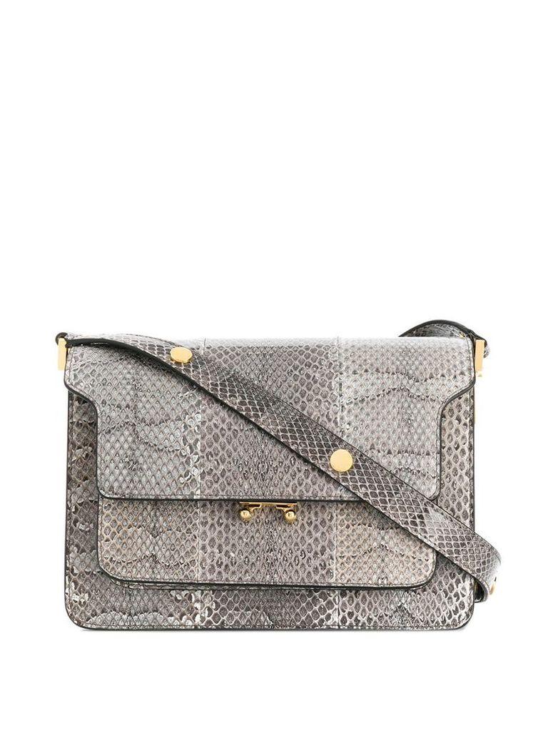 Marni medium Trunk shoulder bag - Grey
