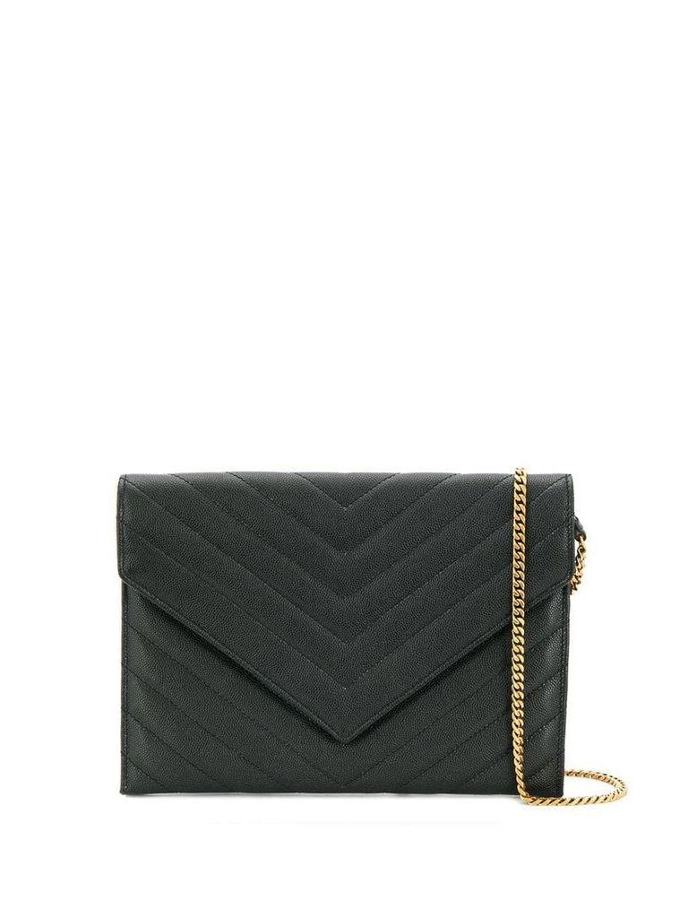 Saint Laurent quilted shoulder bag - Black