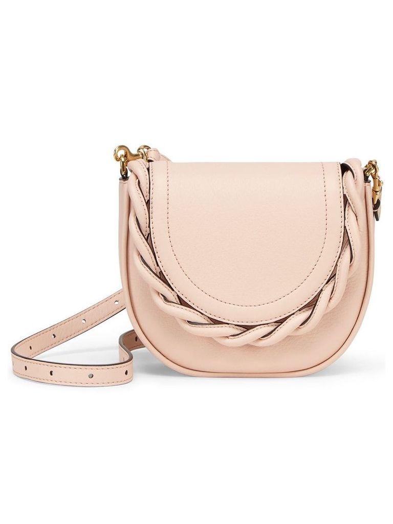 Marco De Vincenzo Mini Idda braided shoulder bag - Neutrals