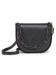 Marco De Vincenzo Mini Idda braided shoulder bag - Black