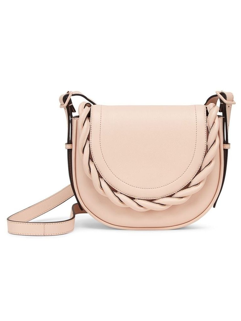 Marco De Vincenzo Idda braided shoulder bag - Neutrals