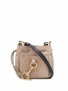 See By Chloé drawstring shoulder bag - Neutrals