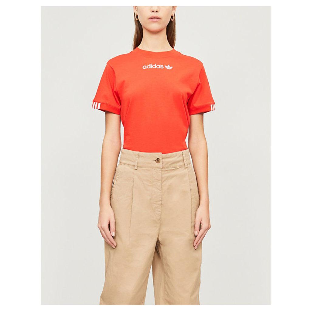 Coeeze cotton-jersey T-shirt
