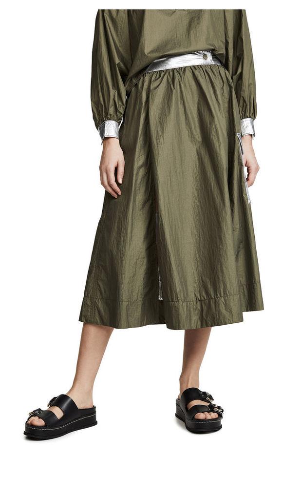 GANNI Two Way Tech Skirt