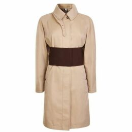 Burberry Corset Belt Trench Coat