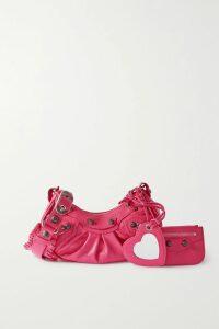 Victoria Beckham - Asymmetric Crepe Midi Dress - Red
