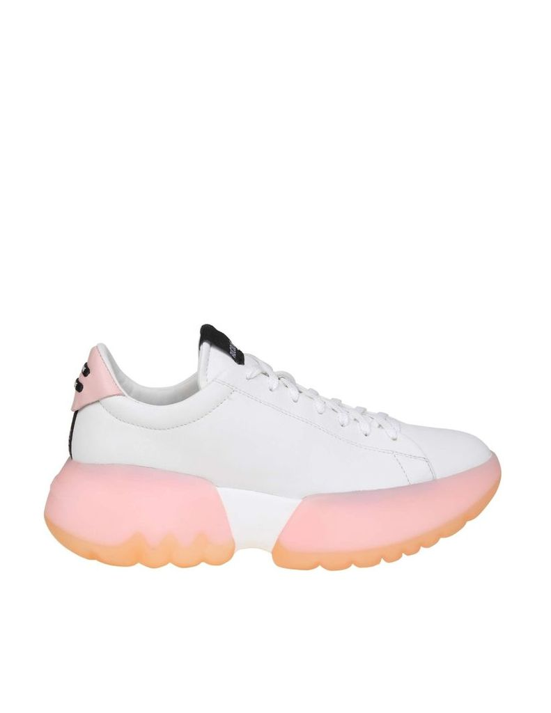 Rucoline Sneakers R-bubble 1454 In White Leather