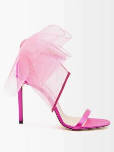 Chufy - Soufiane V Neck Tie Waist Shirtdress - Womens - White Multi