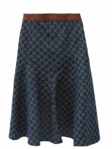Holiday Boileau - Cavallerie Single Breasted Cotton Tweed Blazer - Womens - Cream