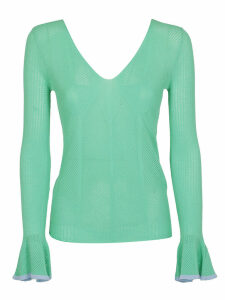 See By Chloé Flared Cuffs Sweater