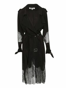 Mcq Alexander Mcqueen Lace Insert Trench