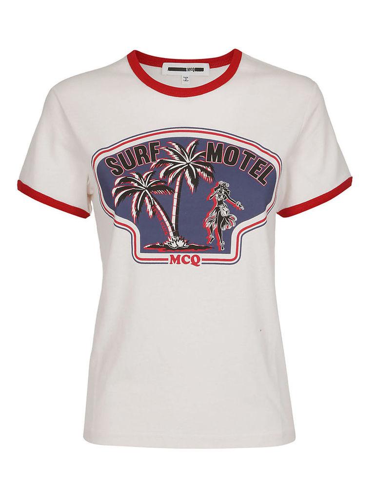 Mcq Alexander Mcqueen Surf Motel T-shirt