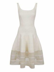 Alexander McQueen Flared Knitted Dress
