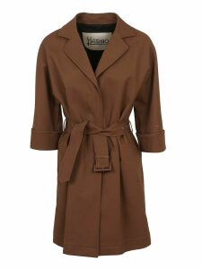 Herno Classic Belted Coat
