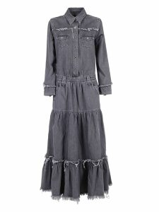 Alanui Denim Long Dress