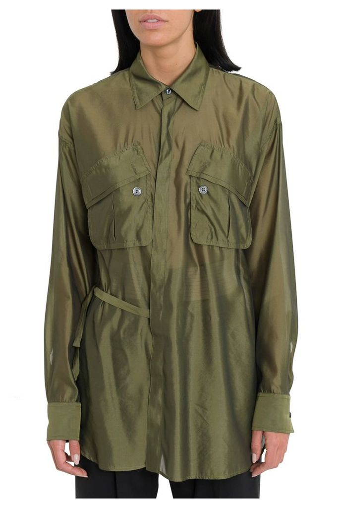 Dsquared2 Organdy Laces Shirt