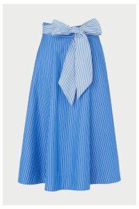 Womens L.K.Bennett Blue Alela Skirt -  Blue