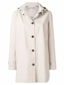 Save The Duck single-breasted raincoat - Neutrals