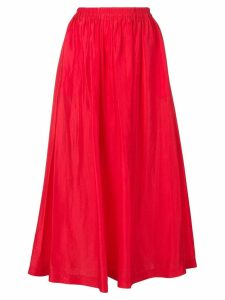Forte Forte pleated skirt - Red