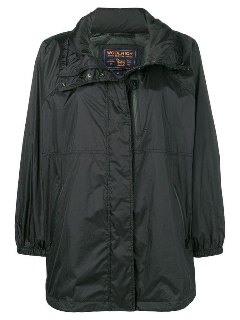 Woolrich short raincoat - Black