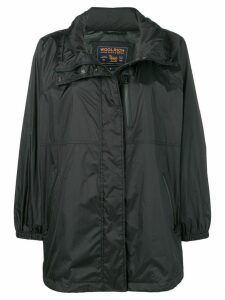Woolrich short raincoat - Black