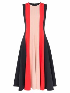 Roksanda Kalia crepe de chine midi dress - Black