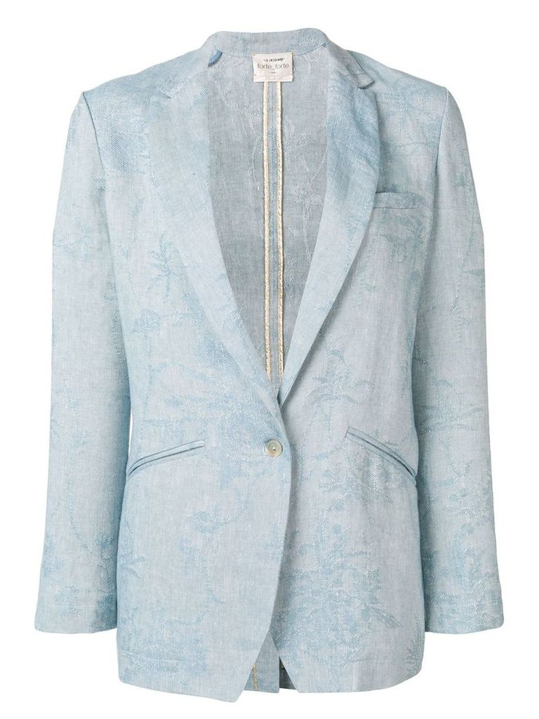 Forte Forte classic tailored blazer - Blue
