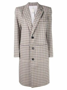 Tibi Zio plaid coat - Multicolour