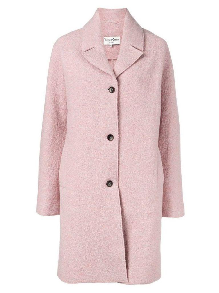 YMC textured coat - Pink
