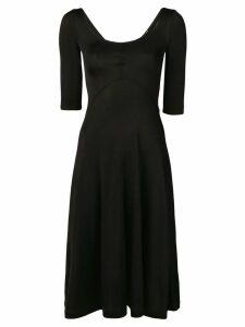 Acne Studios scoop neck dress - Black