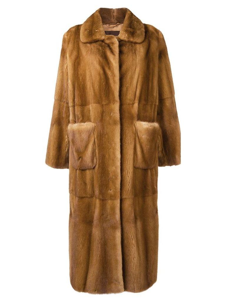 Liska Saturn long coat - Neutrals
