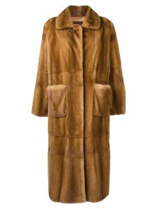 Liska Saturn long coat - Neutrals