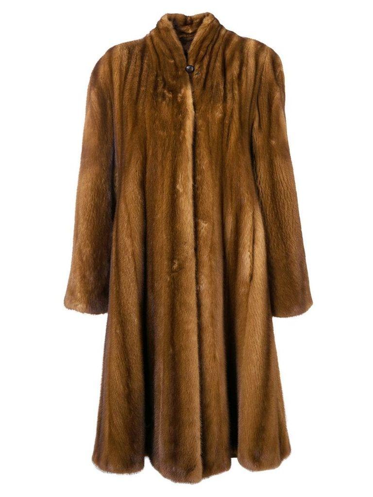 Liska Rivivi fur coat - Brown