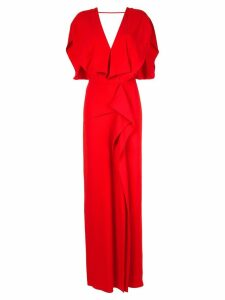 Roland Mouret Lorre SS gown - Red