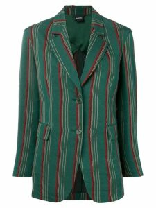 Aspesi striped blazer - Green