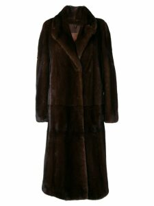 Liska Jess fur coat - Brown
