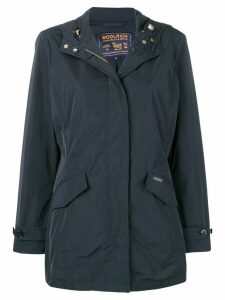 Woolrich hooded coat - Blue