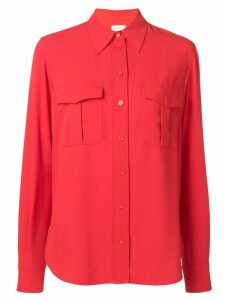 Calvin Klein chest pocket shirt - Red